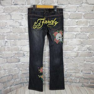 Ed Hardy by Christian Audigier Jeans Embroidery 26